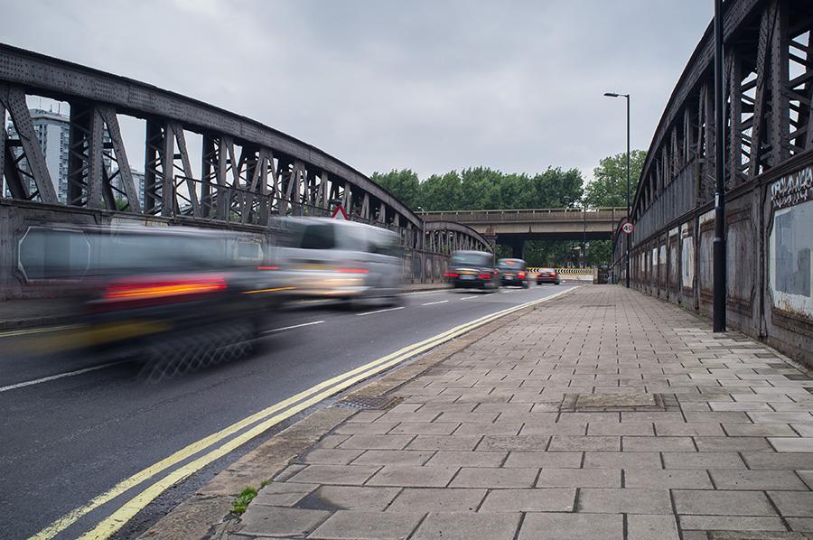 london paddington train bridge
