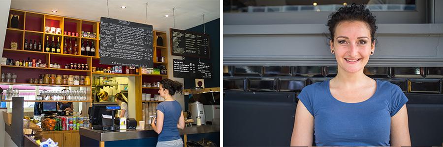 London Hammersmith cafe Manja