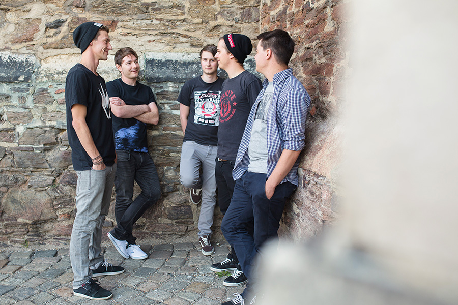 Bandfoto Promotion Rock