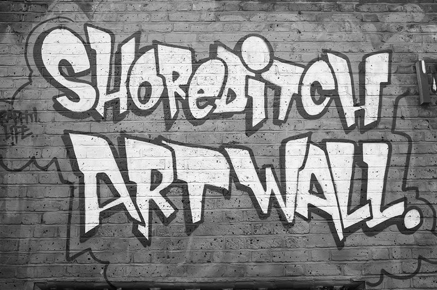 shoreditch artwall
