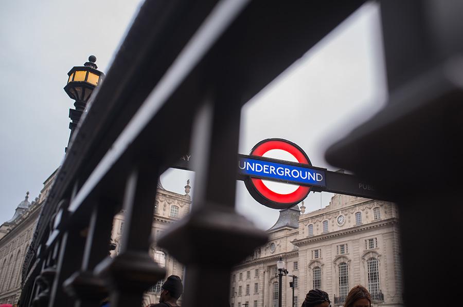 London underground Picadilly