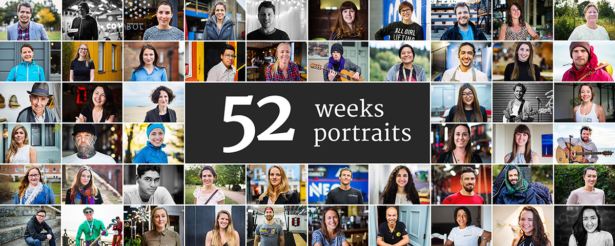 52 weeks 52 portraits