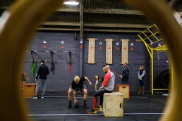 Testing the fittest athletes . CrossFit Open workout 17.1
