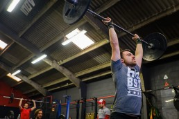 Testing the fittest athletes . CrossFit Open workout 17.5