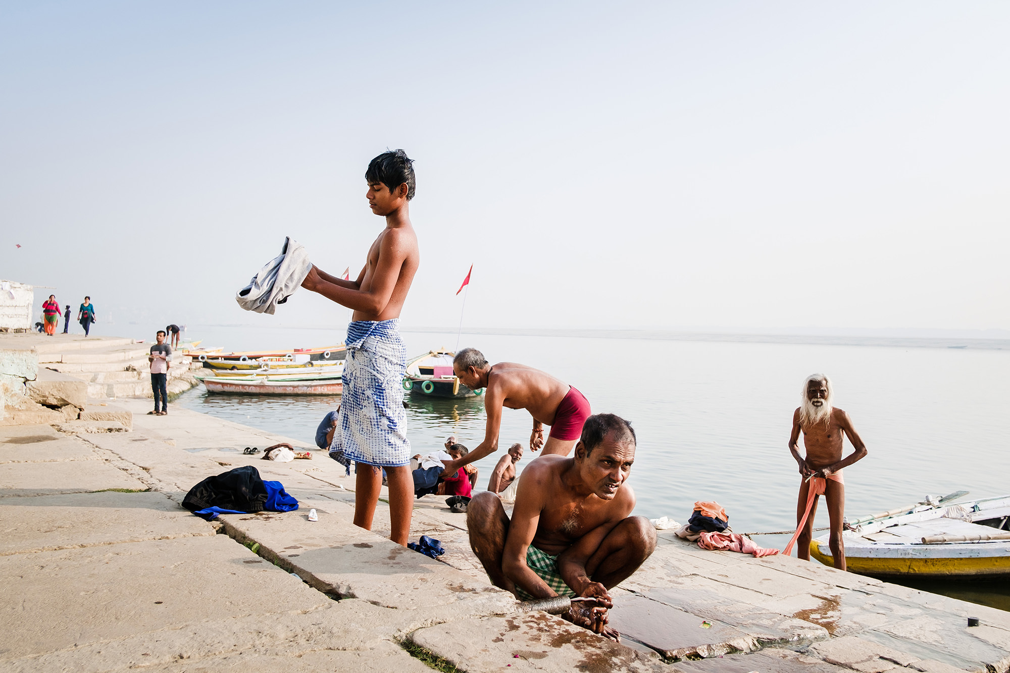 Street photography in India