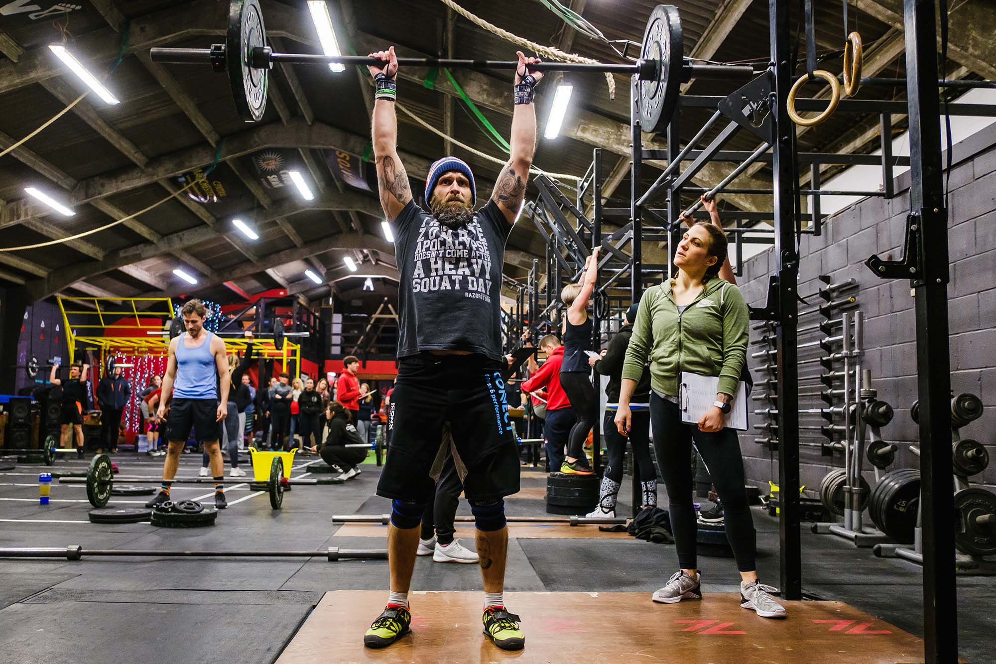 Testing the fittest athletes . CrossFit Open 2018