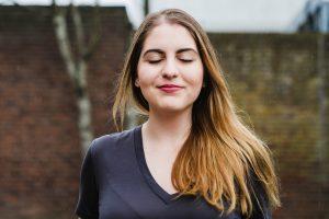 chrissa portrait Brighton rain