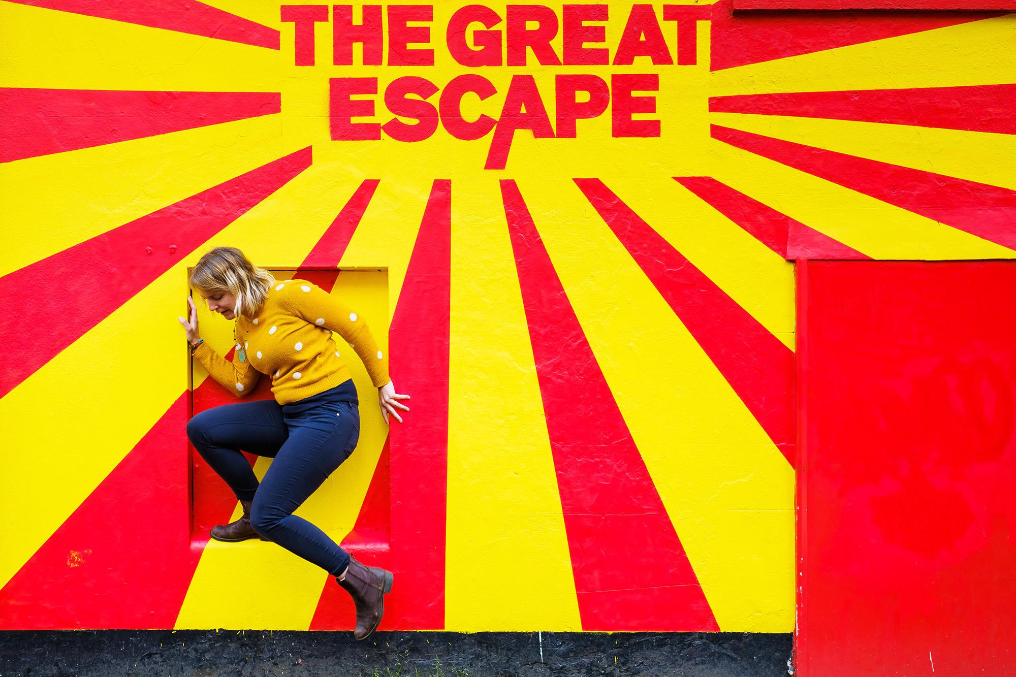 Anna portrait great escape