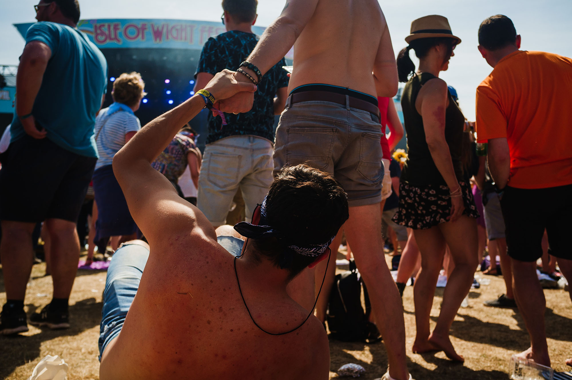 festival photography isle of wight