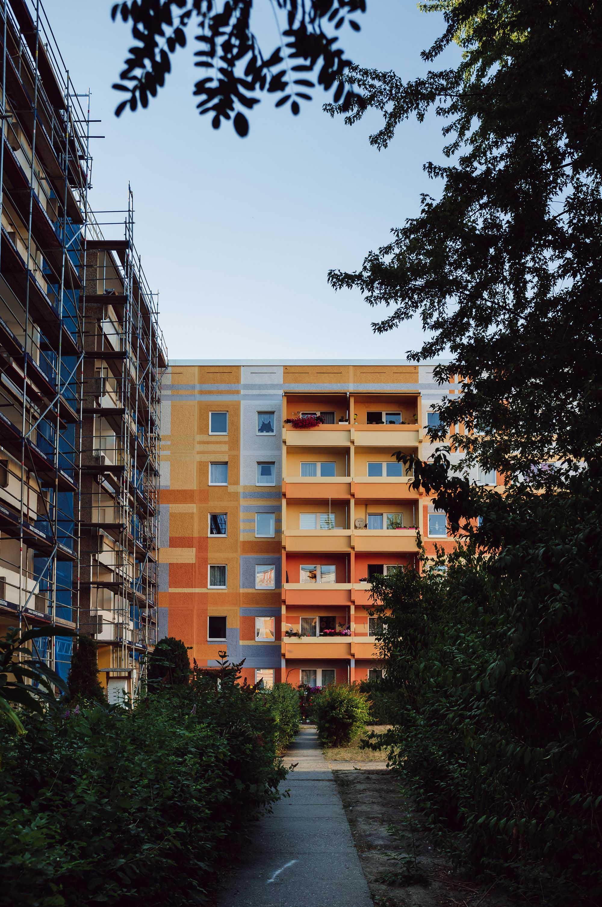 leipzig block of flats