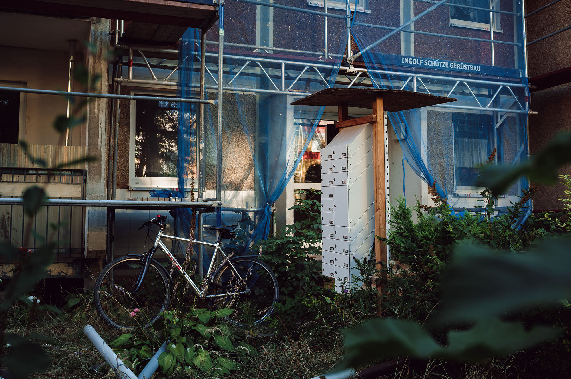 leipzig gruenau construction