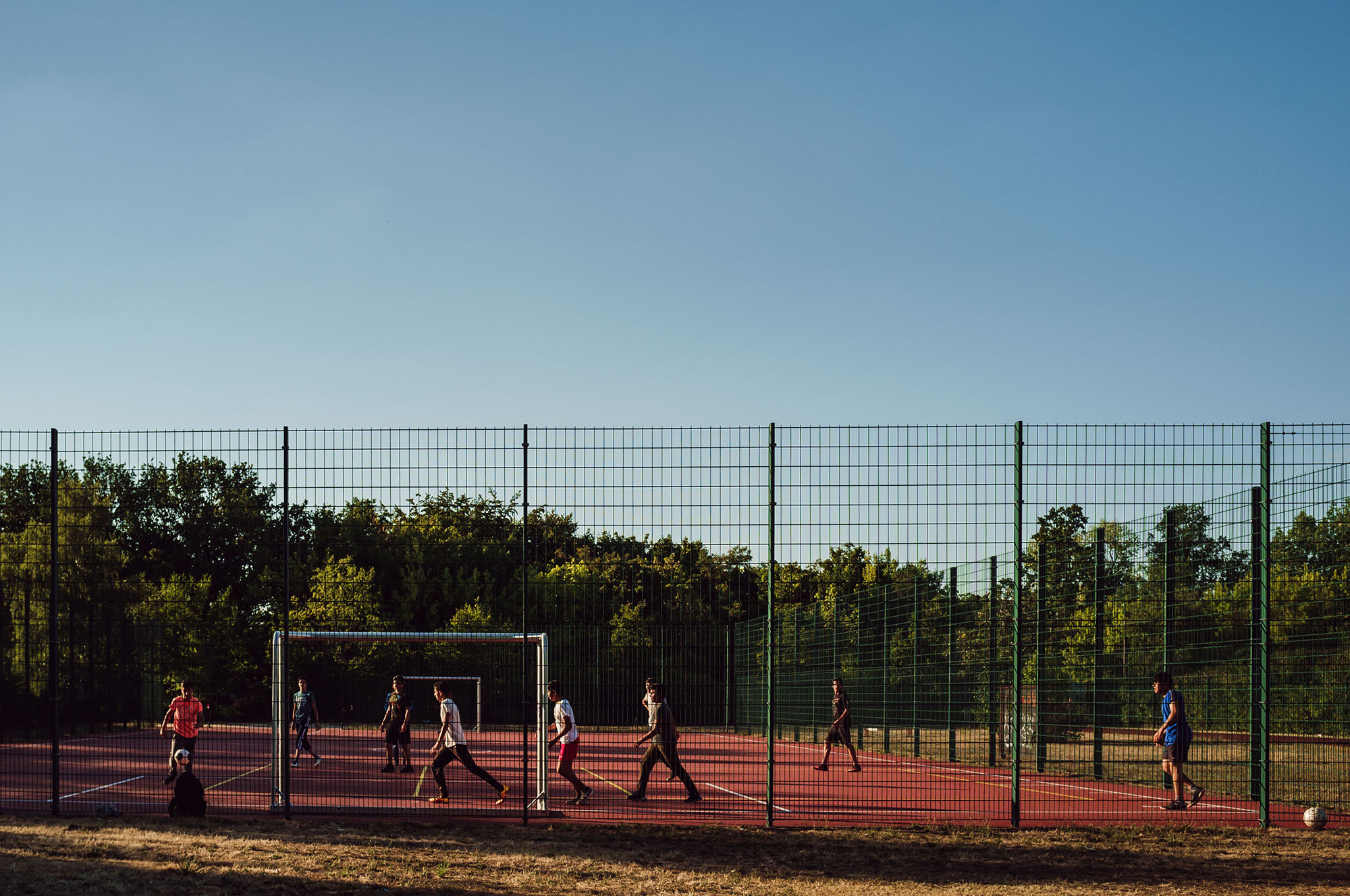 football soccer kids leipzig