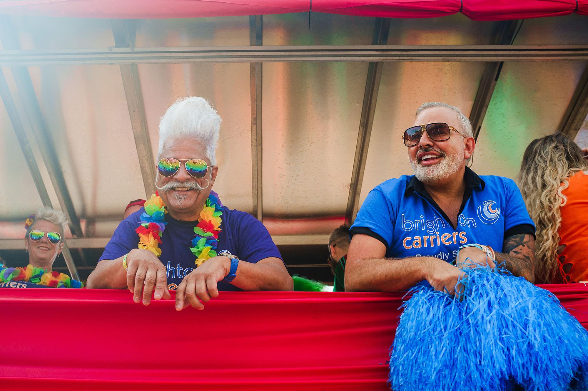 Brighton Pride float