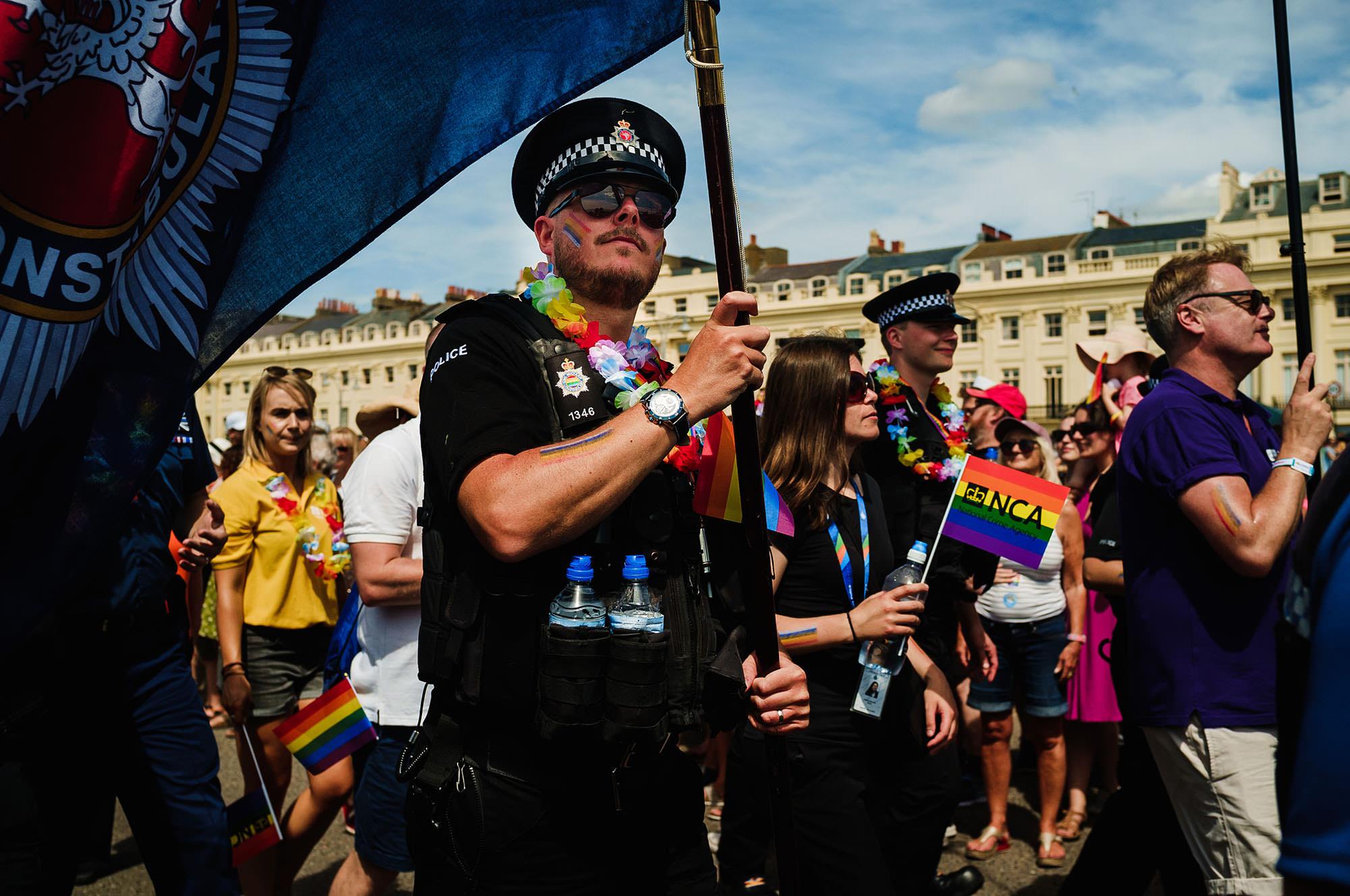 brighton police pride