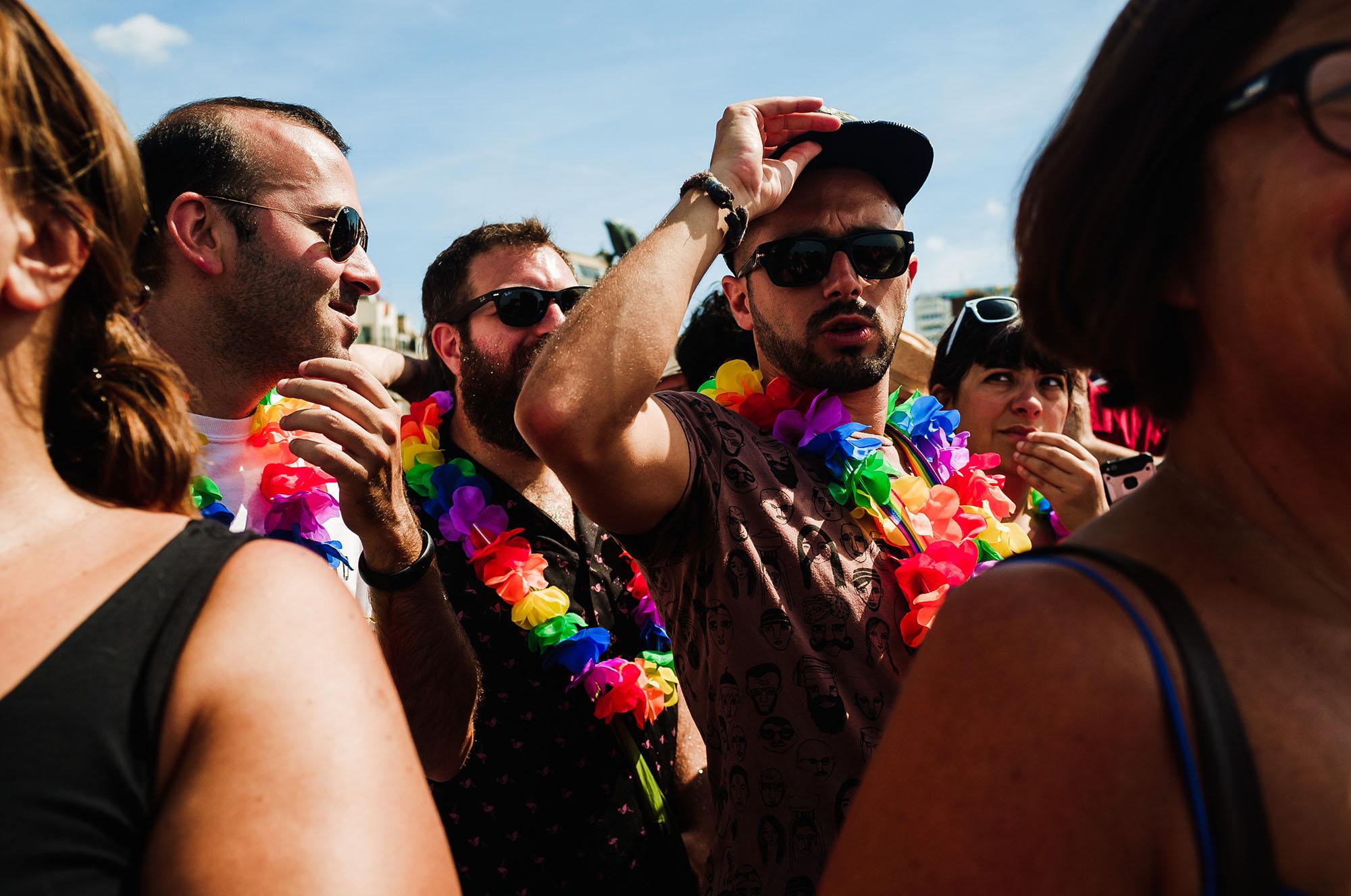 pride parade spectators
