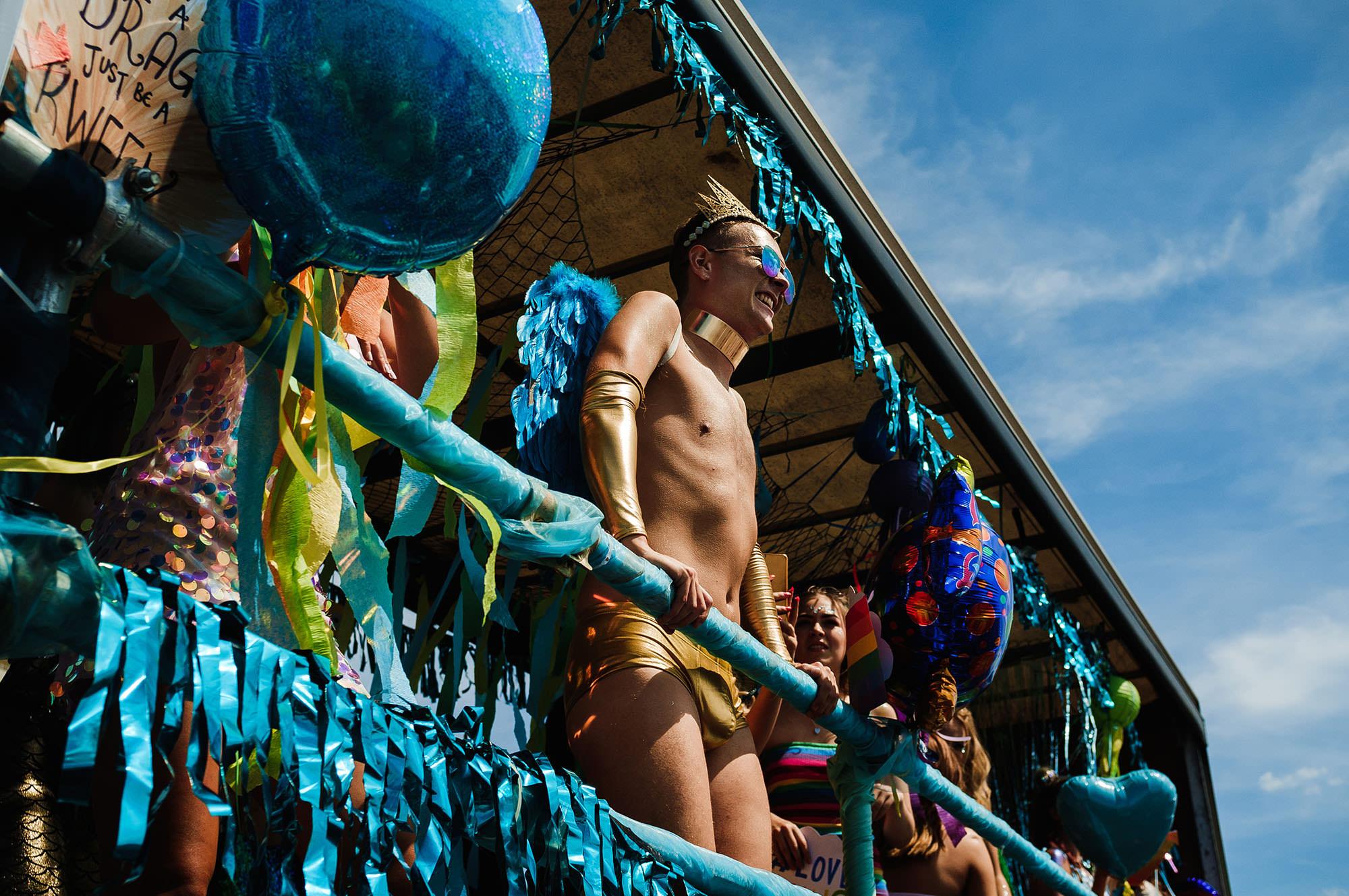 float pride parade