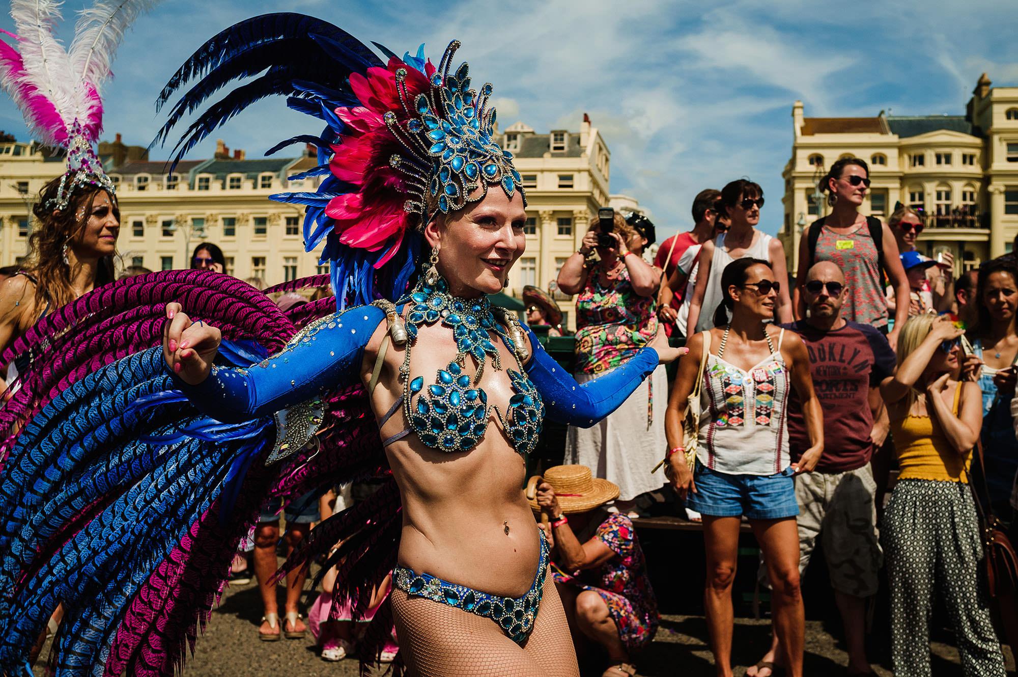 Brighton Pride 2018 samba