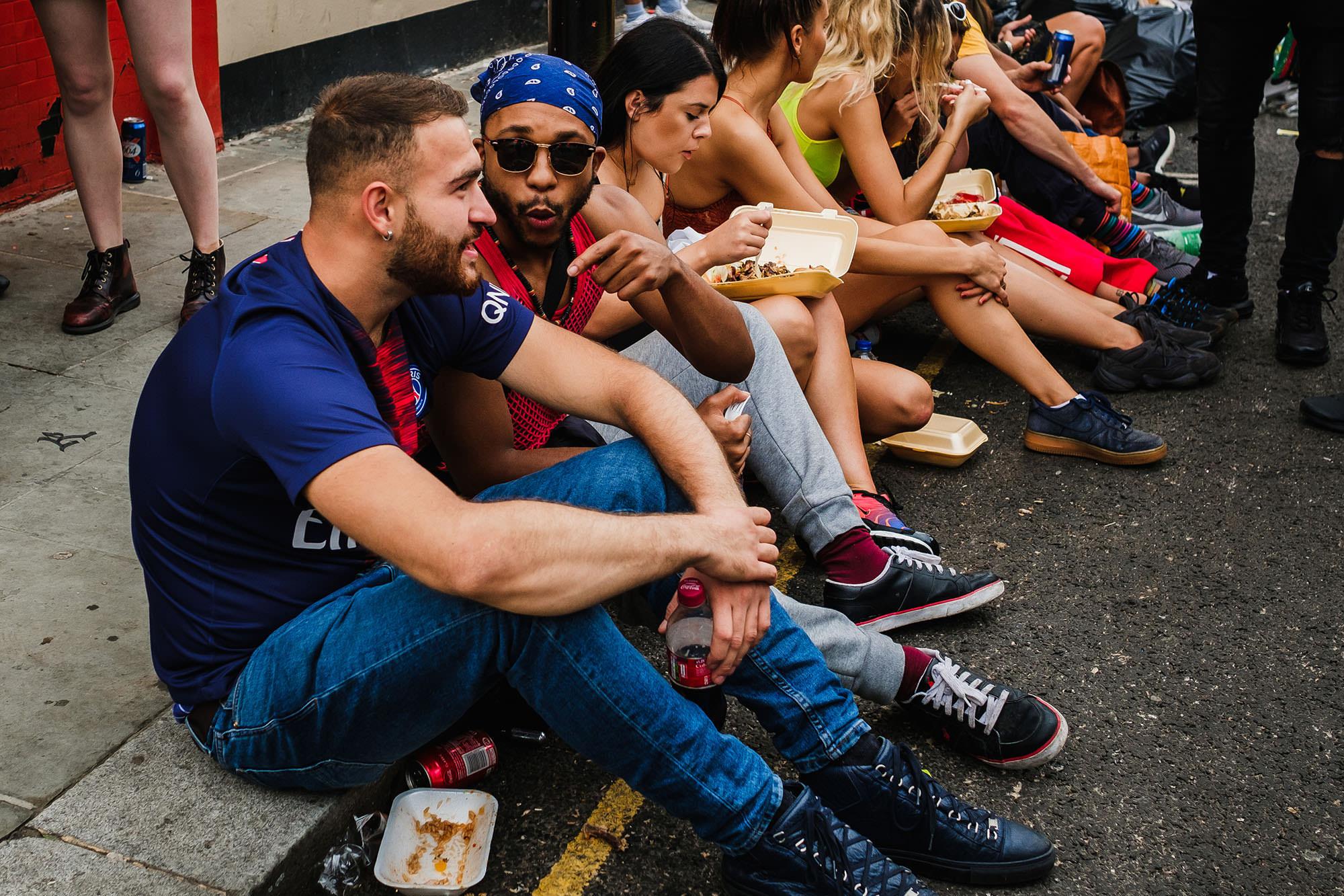 Street festival London carnival