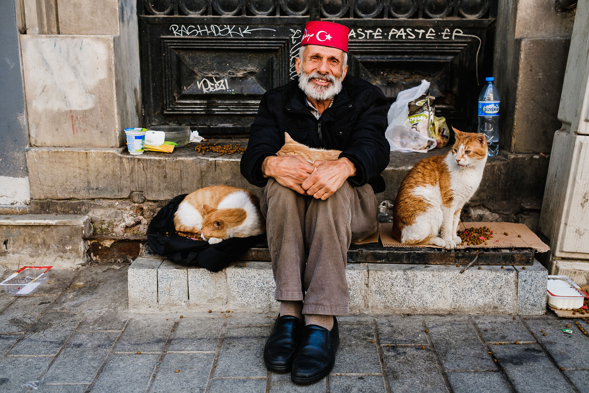 Street photography in Istanbul