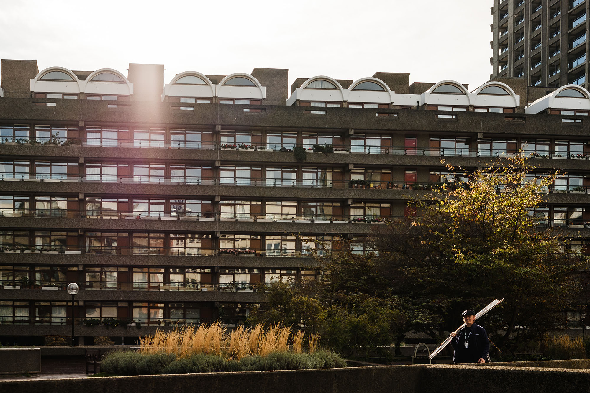 Barbican centre street photography