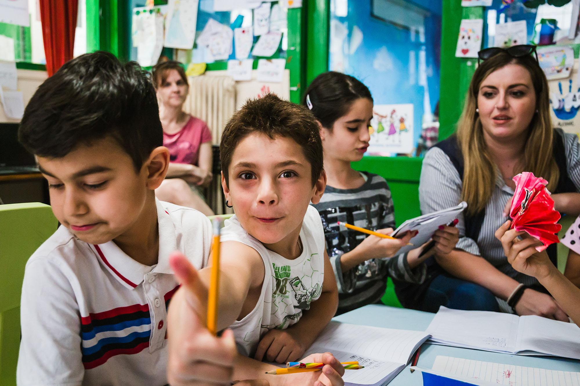 Volunteers Greece conflict