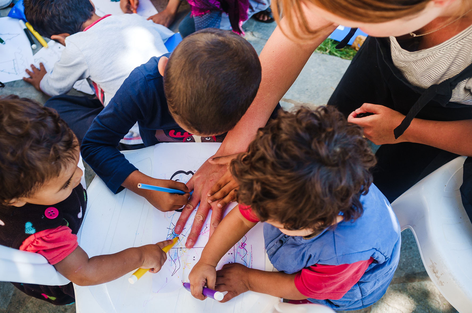 Learning change Greece refugees