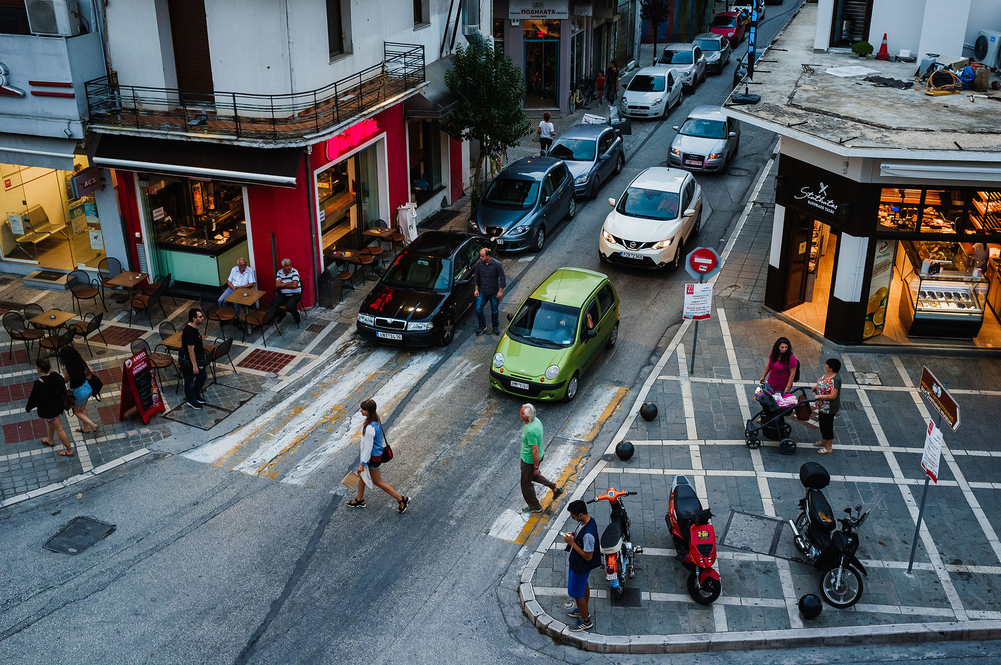 Greece Ioannina street photogtraphy