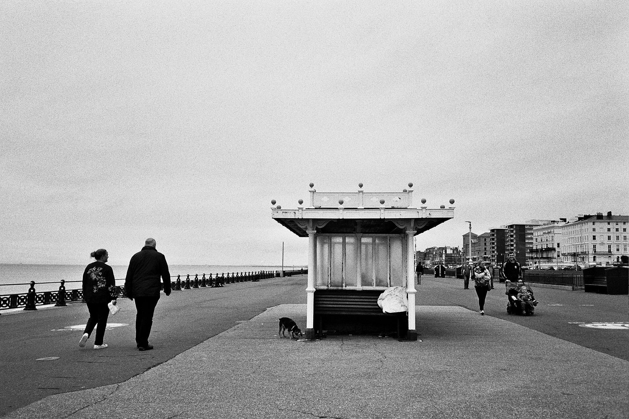 brighton-seafront-hove-lawns-olympus-film-camera