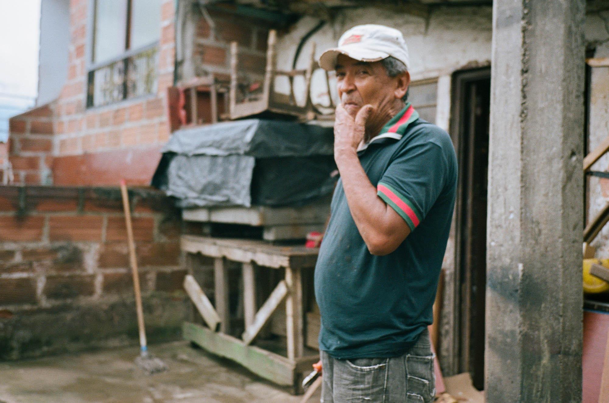 Film photography Colombia Olympus mju-ii