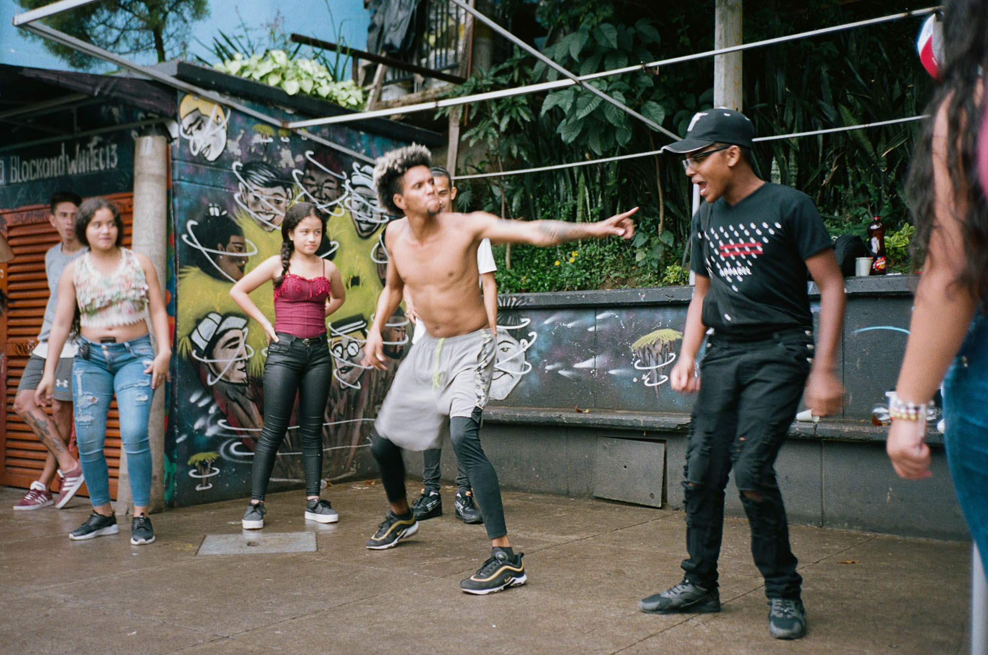 Medellin Colombia street photography