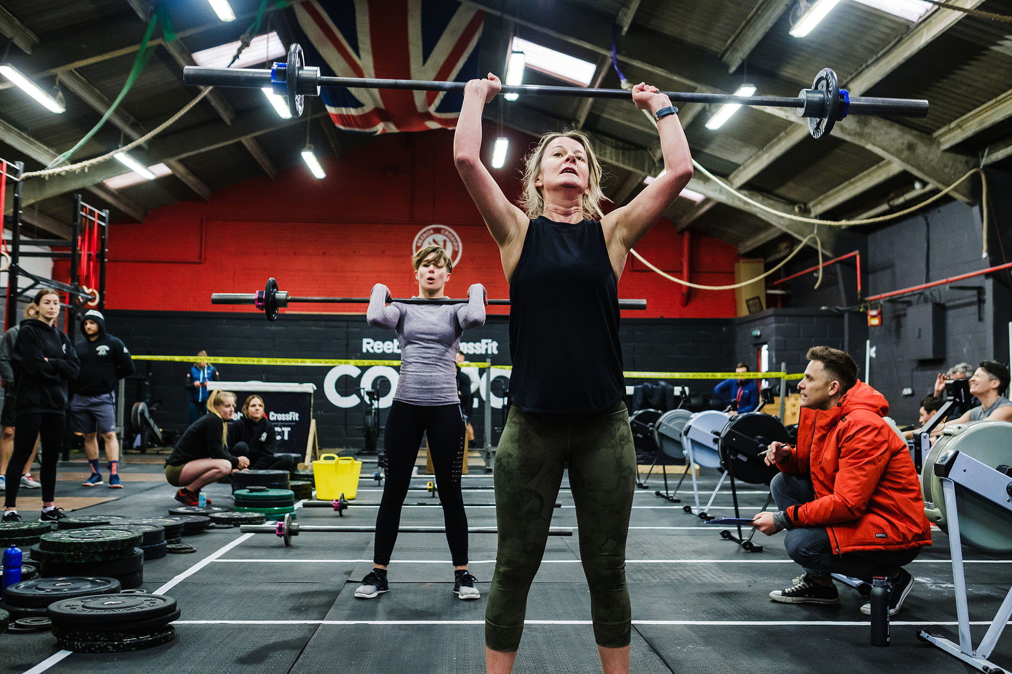 Crossfit event photography