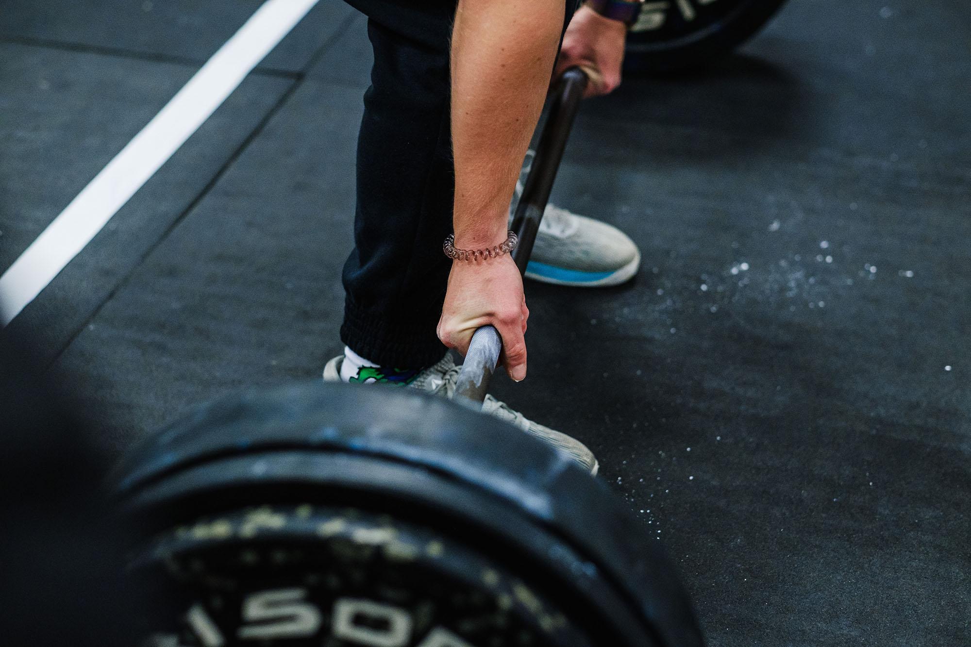 deadlift crossfit heavy weight