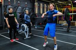 Crossfit reebok throwdown athlete