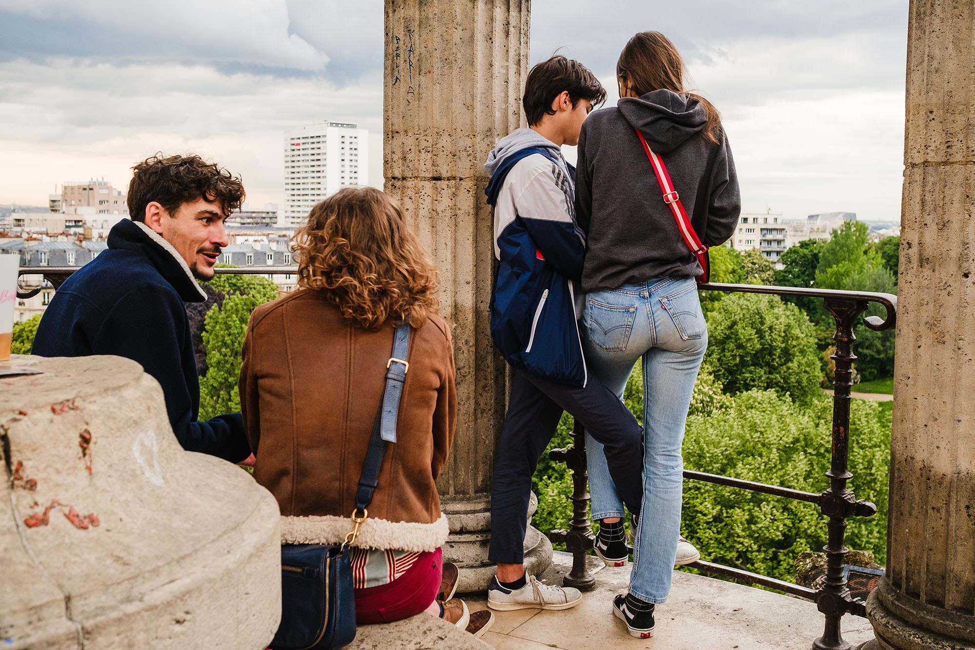 Paris views city life