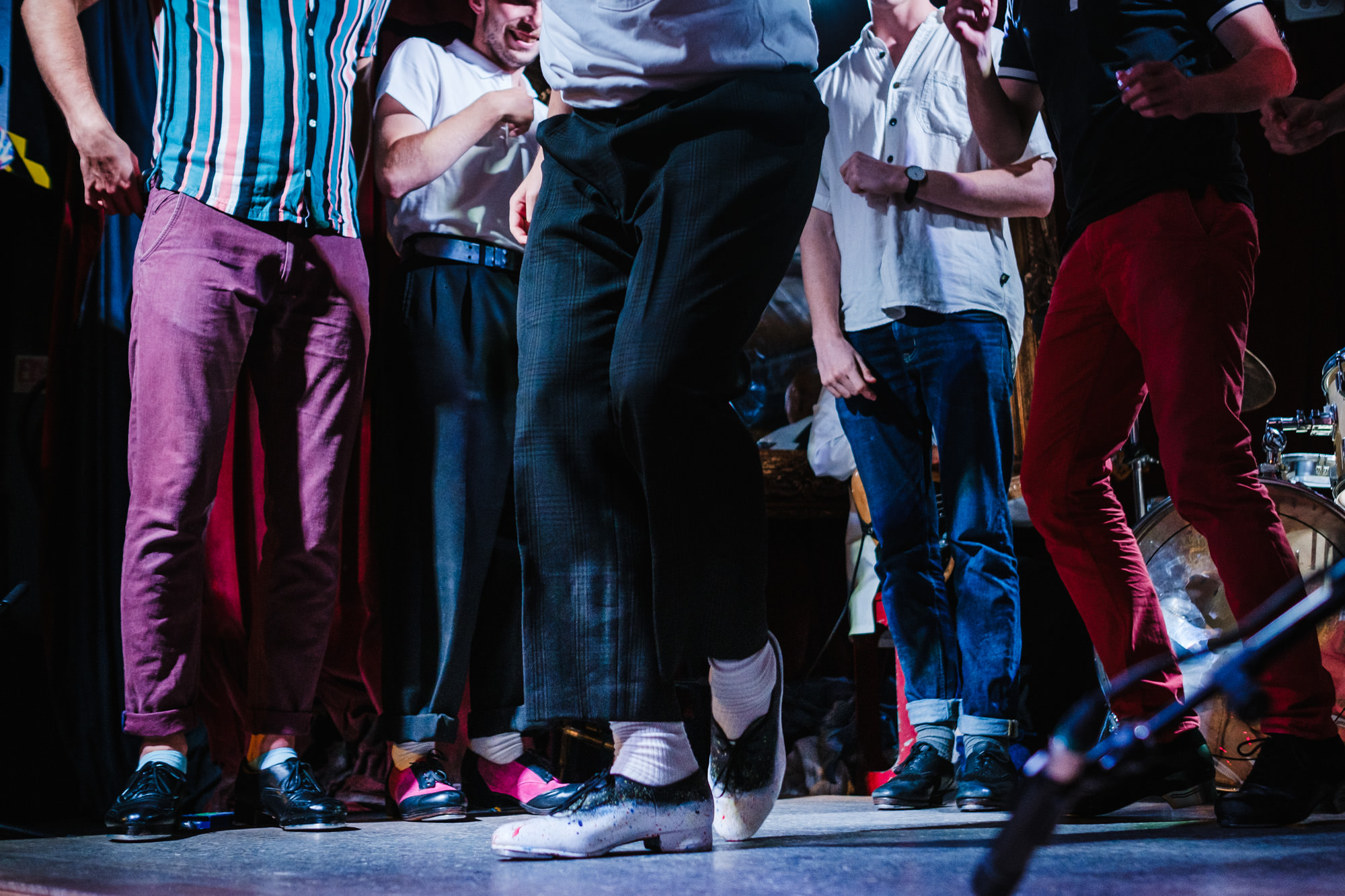 Tap dancer show live in London