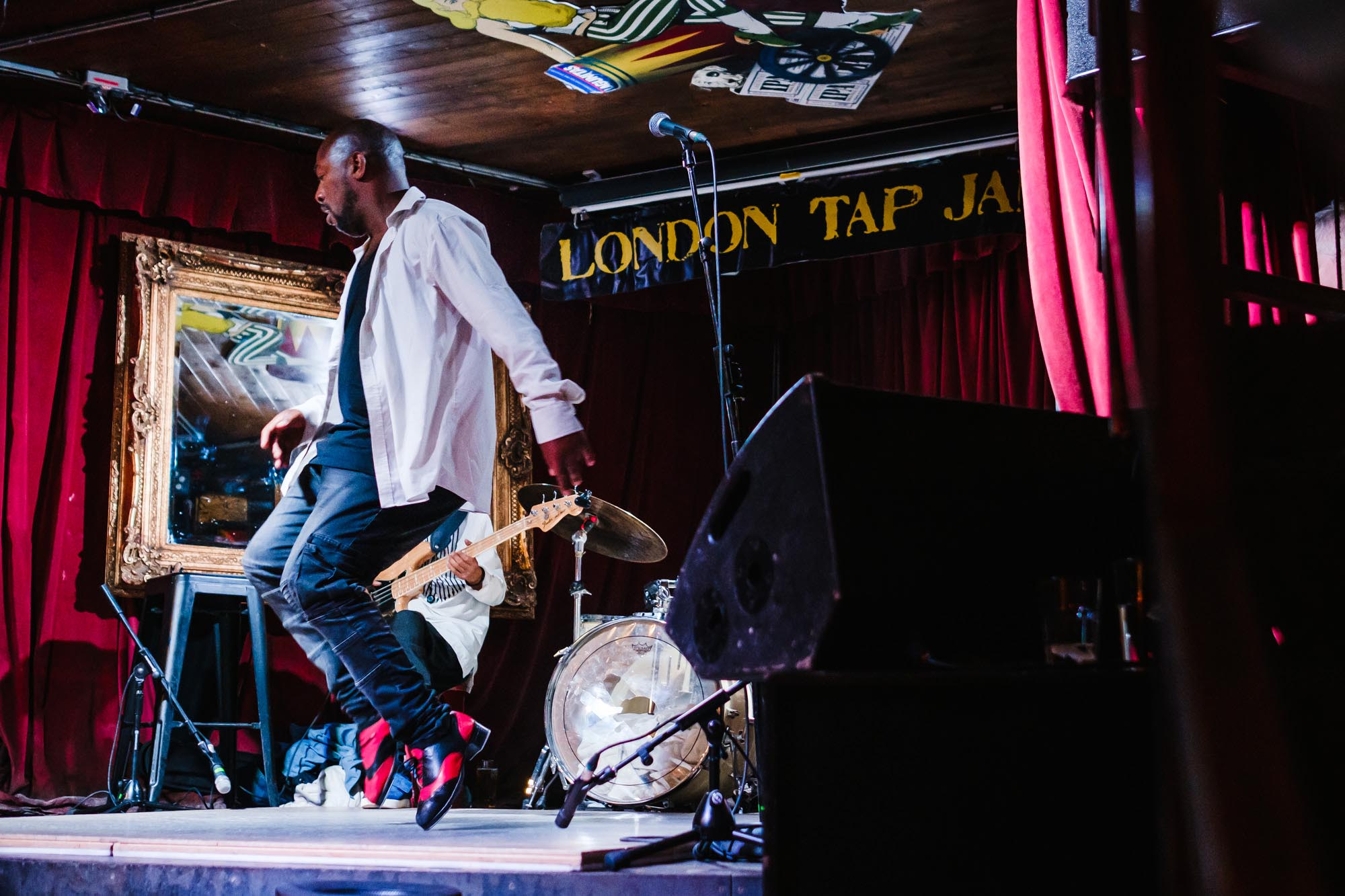 London nightlife hoofer tap dance
