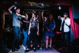 London tap jam dancing session