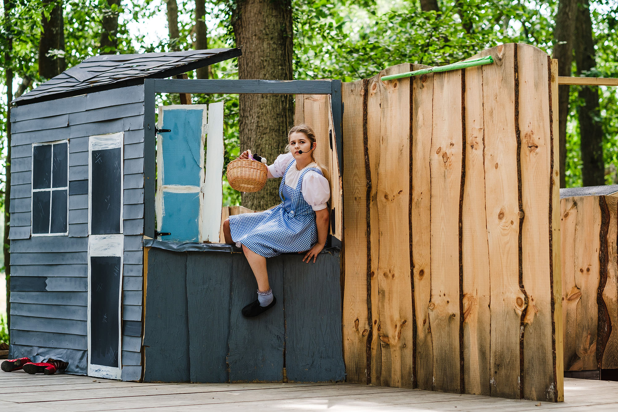 Open air kids show Sussex