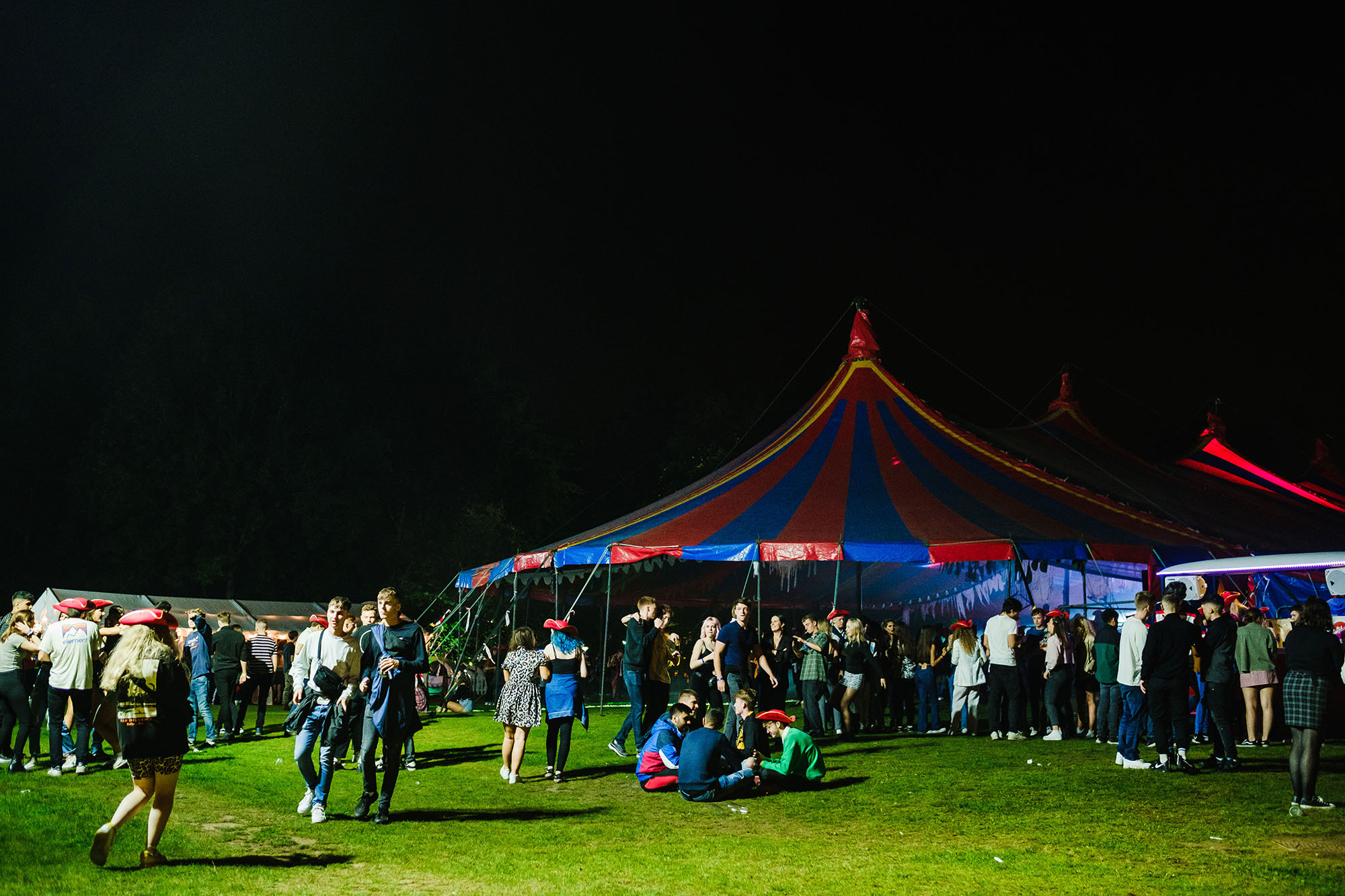 Freshers' week events photography