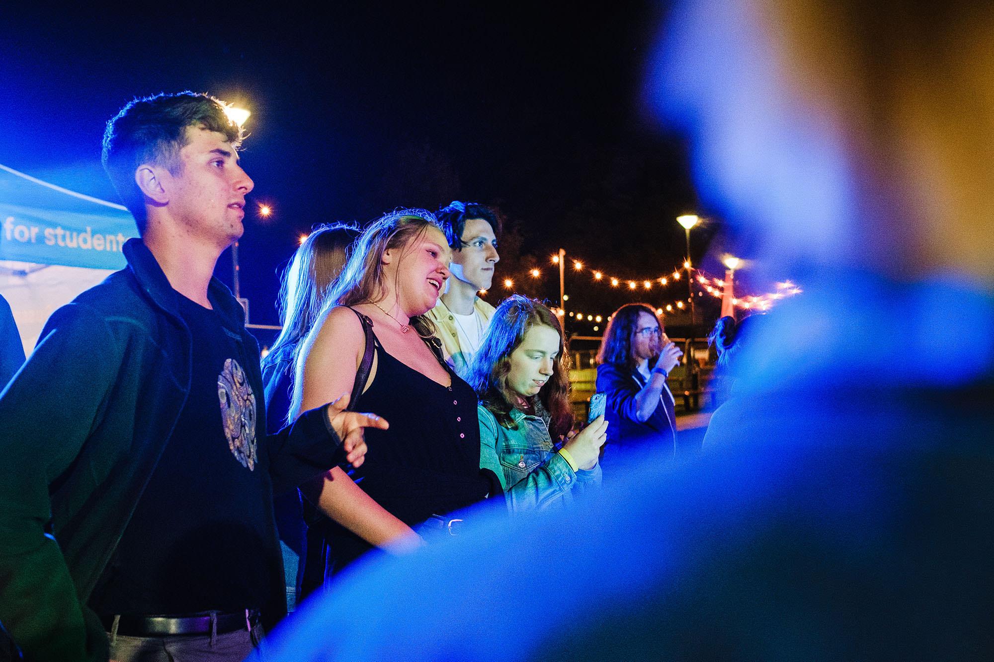 \treasure island freshers' festival photography
