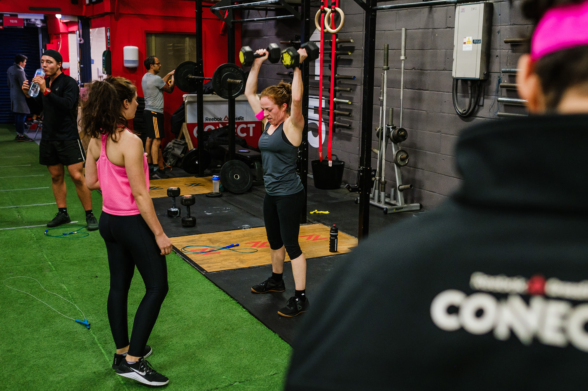 Reebok crossfit connect Brighton gym