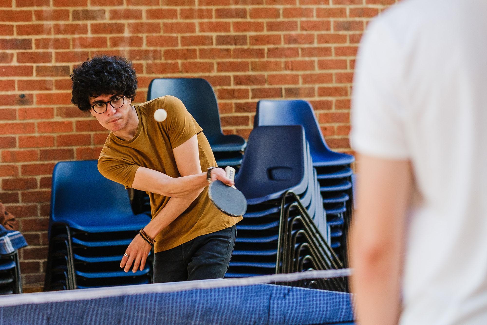University freshers' week photos