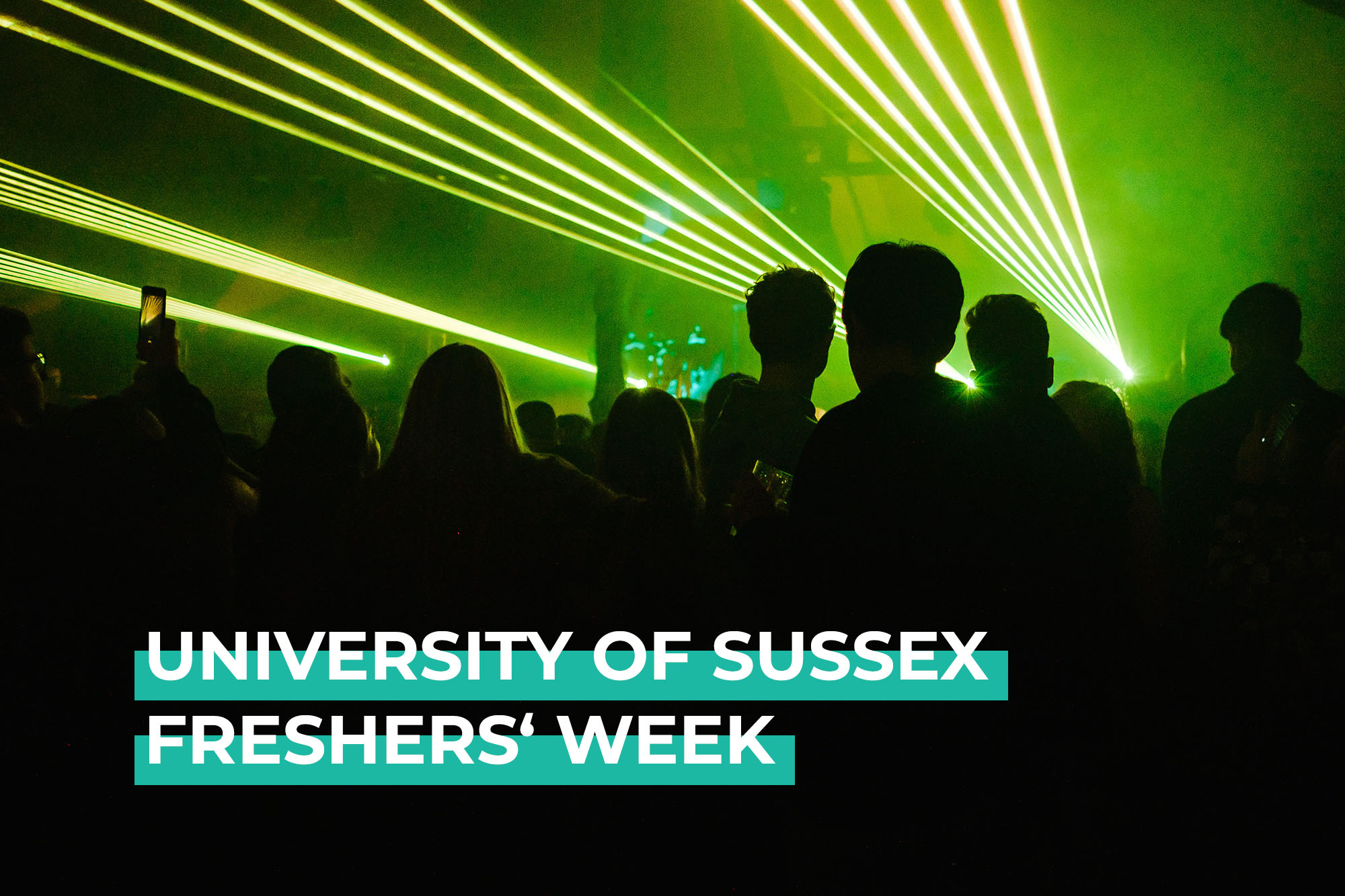 university of sussex freshers' week commercial work