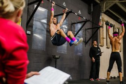 Testing the fittest athletes . CrossFit Open workout 20.2