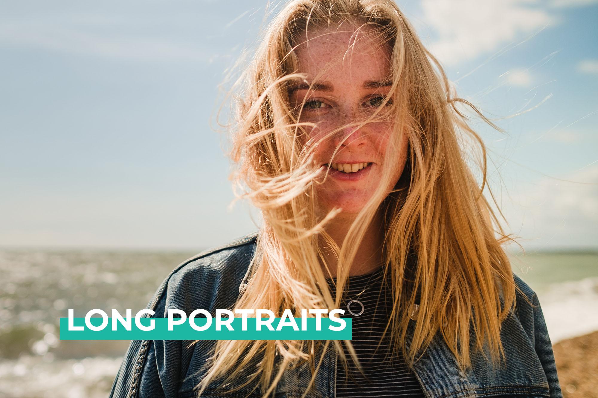 long portrait video project