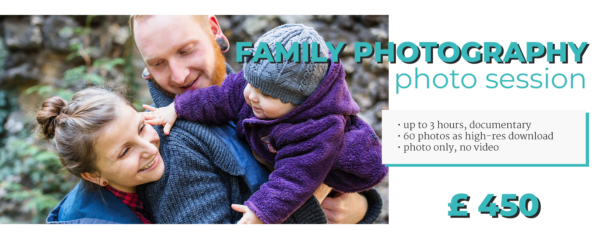 family photo and film pricing info
