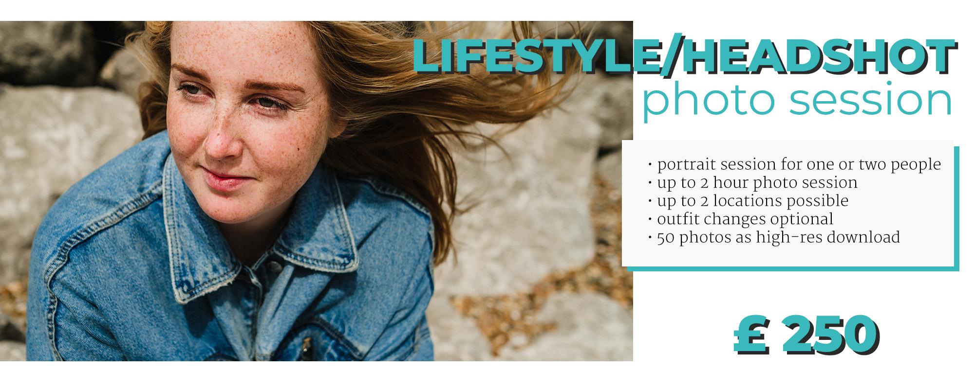 portrait lifestyle headshot photo session