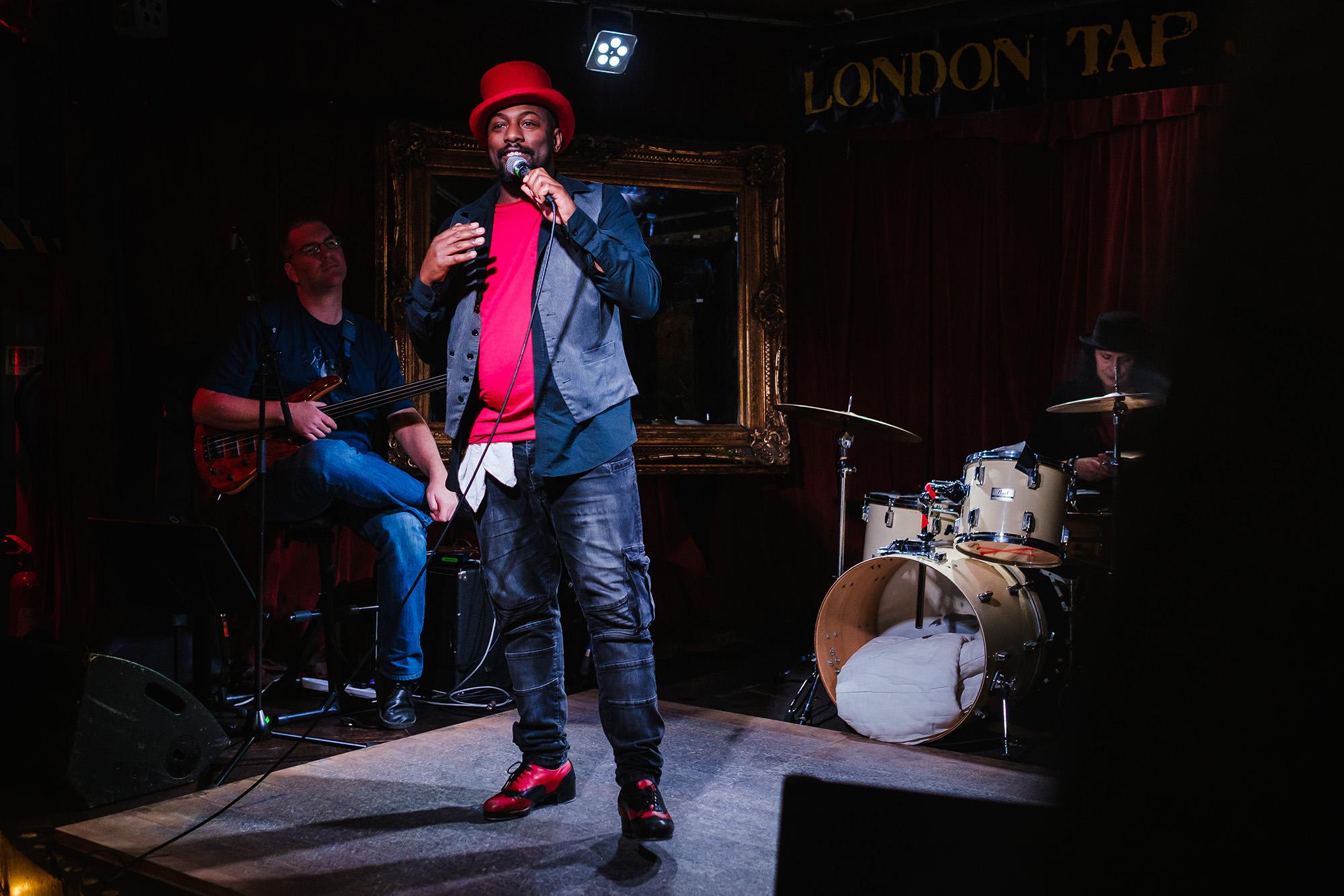 London Tap Jam host Lee Payne