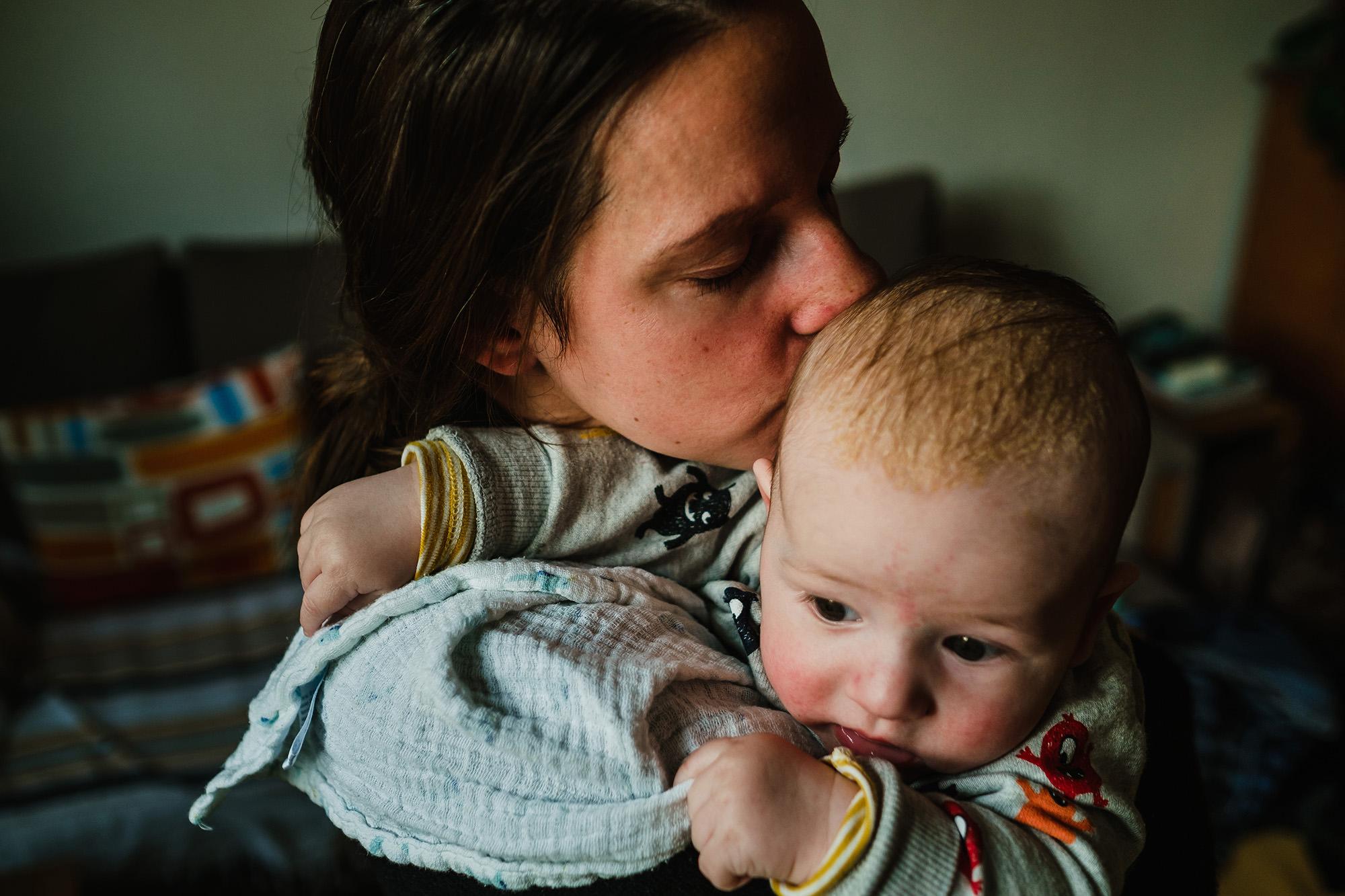 baby boy with mummy
