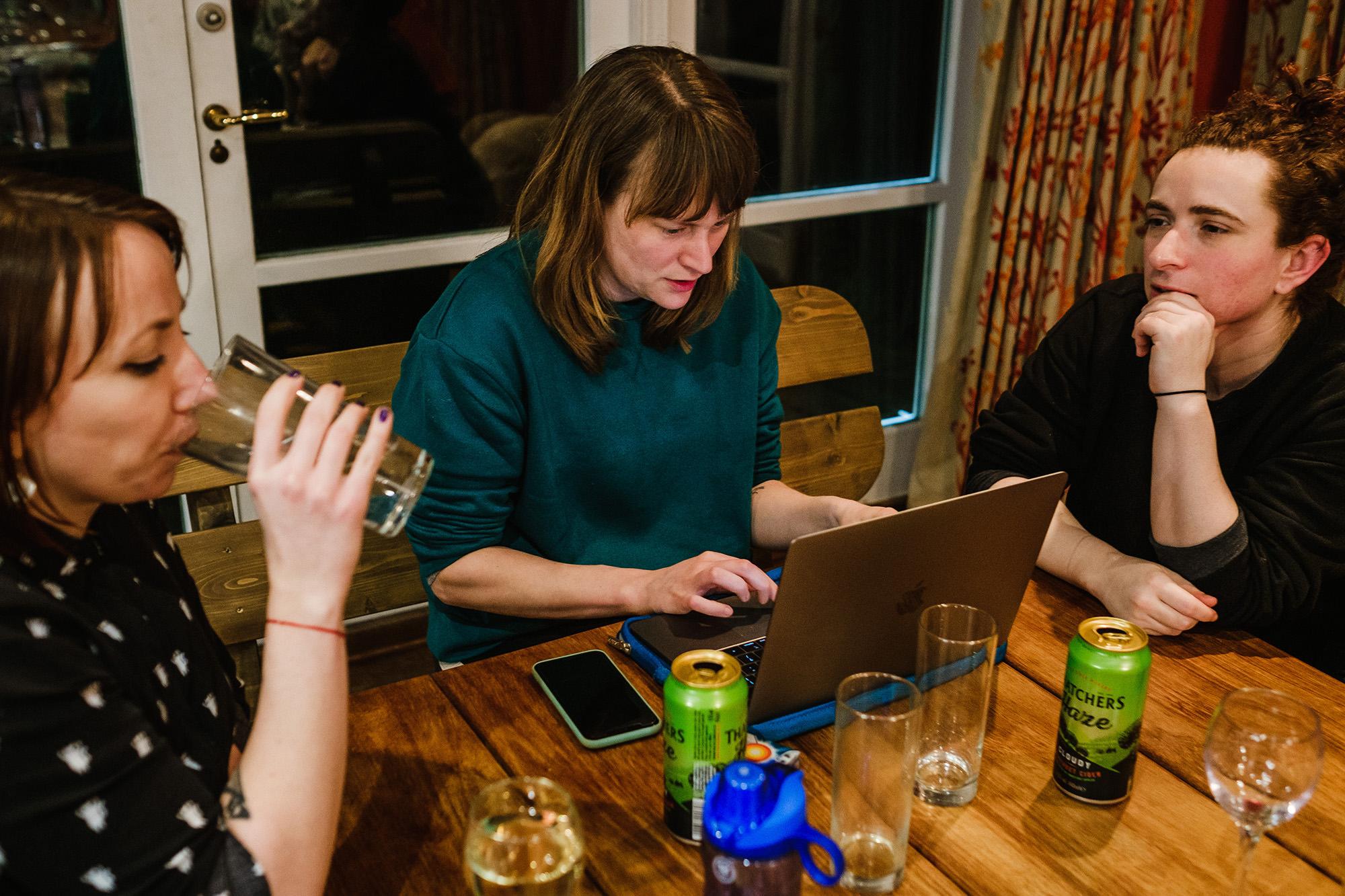 photographers talking business